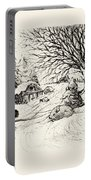 Snow Bunny Portable Battery Charger