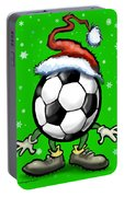 Soccer Christmas Portable Battery Charger