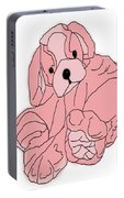 Soft Puppy Pink Portable Battery Charger
