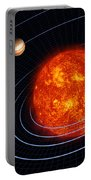 Solar System Portable Battery Charger by Stocktrek Images