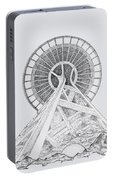 Space Needle- Looking Up Portable Battery Charger
