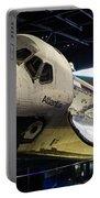 Space Shuttle Atlantis Portable Battery Charger