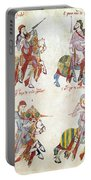 Spain: Knights, C1350 Portable Battery Charger