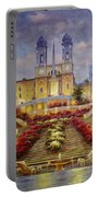 Spanish Steps, Rome Portable Battery Charger