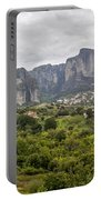 Spectacular Meteora Rock Formations Portable Battery Charger