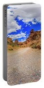 Spherical Panorama From A Canyon Charyn Portable Battery Charger