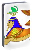 Sphinx - Mythical Creatures Of Ancient Egypt Portable Battery Charger