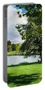 Spring At The Park Portable Battery Charger
