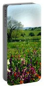 Spring Bouquet At Rusack Vineyards Portable Battery Charger