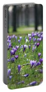 Spring Flowering Crocuses Portable Battery Charger
