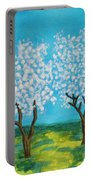 Spring Garden, Painting Portable Battery Charger
