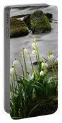 Spring Snowflake Portable Battery Charger