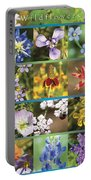 Spring Wildflowers II Portable Battery Charger