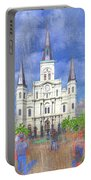 St Louis Cathedral  Portable Battery Charger