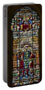Stained Glass - Cathedral Of Seville - Seville Spain Portable Battery Charger