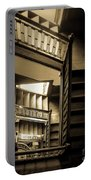 Staircase In Swannanoa Mansion Portable Battery Charger