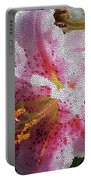 Stargazer Lily  Portable Battery Charger