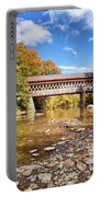 State Road Covered Bridge Portable Battery Charger