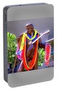 Statue Of, Elvis Presley - Honolulu, Hawaii  Portable Battery Charger