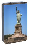 Statue Of Liberty New York America July 2015 Photo By Navinjoshi At Fineartamerica.com  Island Landm Portable Battery Charger