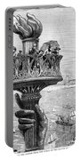 Statue Of Liberty: Torch Portable Battery Charger
