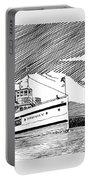 Steamship Virginia V Portable Battery Charger