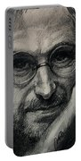 Steve Jobs  Portable Battery Charger