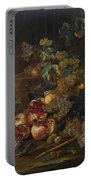 Still Life With Fruit Portable Battery Charger