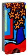 Still Life With Henri Matisse's Verve Portable Battery Charger
