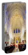 St.patricks Cathedral Restored Portable Battery Charger