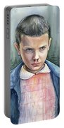 Stranger Things Eleven Portrait Portable Battery Charger
