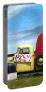 Strawberry Truck Portable Battery Charger