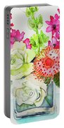 Studio Flowers Portable Battery Charger