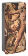 Study For The Martyrdom Of St Symphorien 1834  Portable Battery Charger