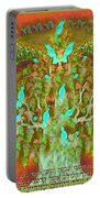Sukkot- Prayer In The Sukkah Portable Battery Charger