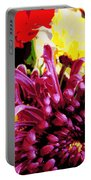 Summer Flowers Portable Battery Charger