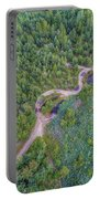 Summer Time Lake And Green Forest, In Poland Lanscape. Portable Battery Charger