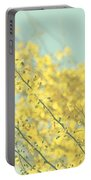 Sunny Blooms 3 Portable Battery Charger