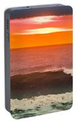 Sunrise Kissing Surf Portable Battery Charger