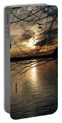 Sunset At The Lake Portable Battery Charger