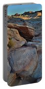 Sunset Comes To Valley Of Fire Portable Battery Charger