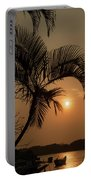 sunset Huong river Portable Battery Charger