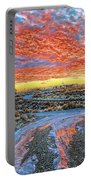 Sunset In El Prado Portable Battery Charger