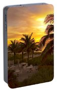 Sunset On Grace Bay Portable Battery Charger