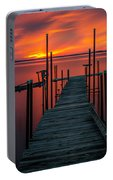 Sunset On The Bay Portable Battery Charger