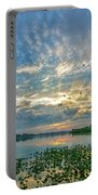 Sunset Over Water Portable Battery Charger