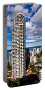 Surfers Paradise View Portable Battery Charger
