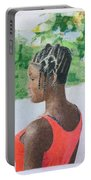 Surinamese Girl Portable Battery Charger