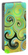 1# Swirls  Portable Battery Charger