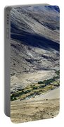Tangsey Village Landscape Of Leh Ladakh Jammu And Kashmir India Portable Battery Charger